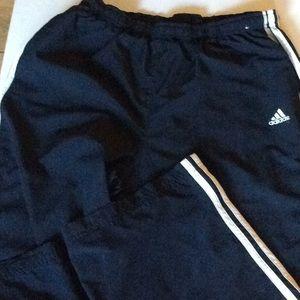 Adidas Navy blue jogging pants size large